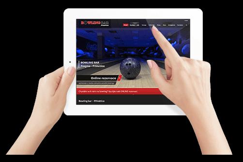 webové stránky pro mobily a tablety