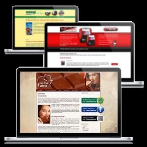 Microsite - webové stránky